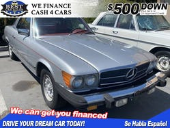 1978 Mercedes-Benz 450SLC