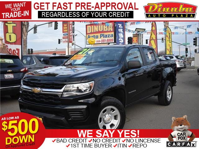 2021 Chevrolet Colorado Crew Cab