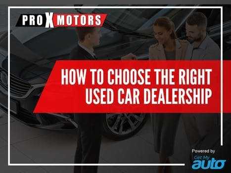 How to Choose the Right Used Car Dealership