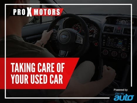 Taking Care of Your Used Car