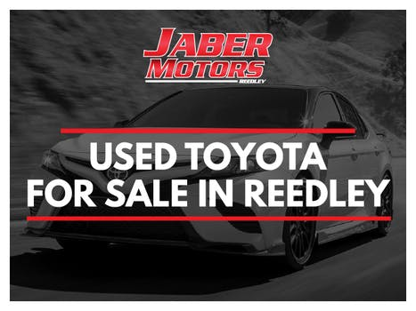 USED TOYOTA FOR SALE IN REEDLEY