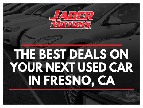 The Best Deals on Your Next Used Car in Fresno, CA